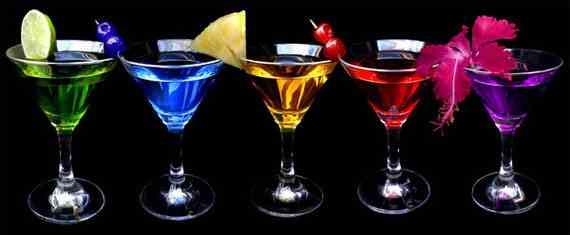 Алкогольные и безалкогольные коктейли